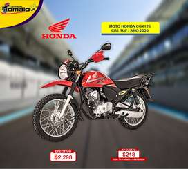 MOTO HONDA CGX125 CB1 TUF / AÑO 2020