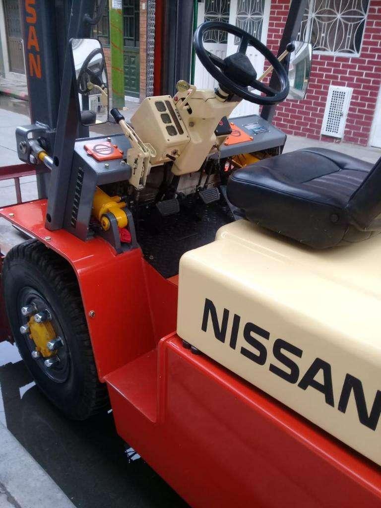 Montacarga Nissan 4 Ton 0