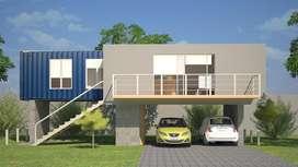 PLANOS Proyecto Casa Containers Contenedor Construir Desde **0**