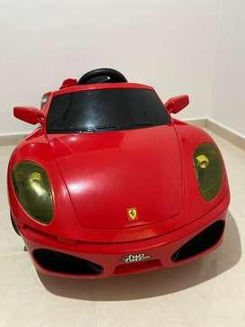 Carro electrico de juguete para niños (as)