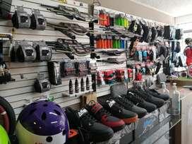 Bicicletas:Timones, llantas, grips, rodilleras, etc!
