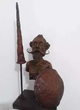 """Escultura """"Don Quijote de la Mancha"""""""