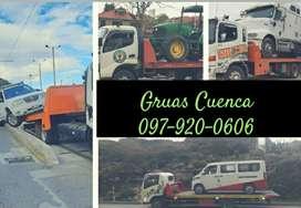 Servicio de gruas en Cuenca & Gruas en Cuenca