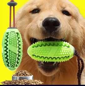 Pelota para perro ovalada