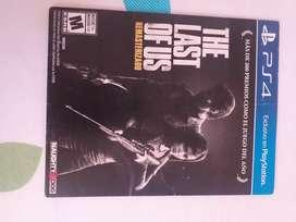 Juego play 4 the last of US remasterizado