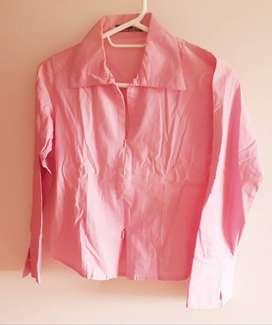Blusa Mujer Color Rosa Claro
