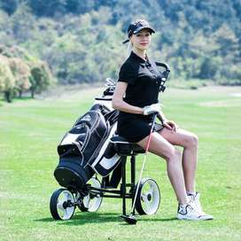 CARRO  de golf . de 2 LLANTAS,  CON  Asiento