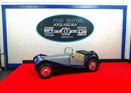 Jaguar SS 100 - autos a escala - carros de colección