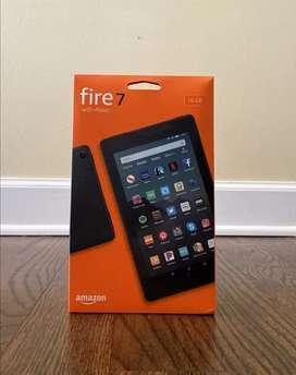 Tablet 7 pulgadas 16 GB, Fire 7 con Alexa. Nuevo y sellado