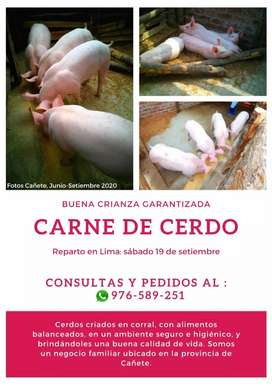 Delivery de Carne de Cerdo (Lima)