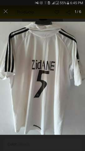 Camiseta Real Madrid Temp 2005 Zidane M