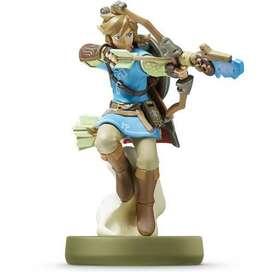 Amiibo Link Archer Zelda Breath Of The Wild Nintendo Switch Nuevo Original Sellado