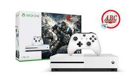 Consola Xbox One S 1tb Juego Gears Of War 4 Envio Gratis