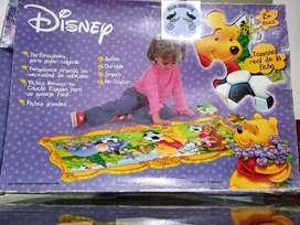 Rompecabezas Disney Winnie The Pooh 27 piezas en caucho espuma 84 x 33 cms PULGAS CIBERNETICAS, usado segunda mano  Villa Mayor