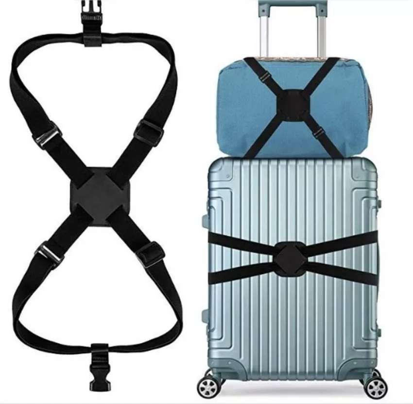 Correa De Equipaje para Maleta De Viaje Backpack Baggage Strap Gruponatic san miguel surquillo independencia la molina 0