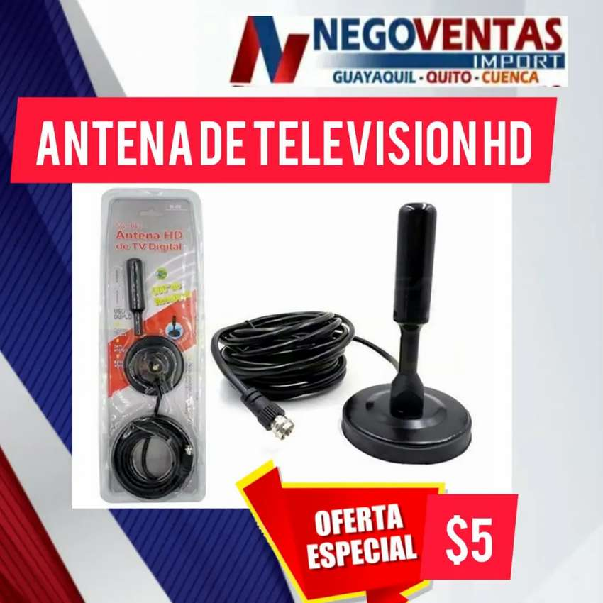 Antena de televisión hd 0