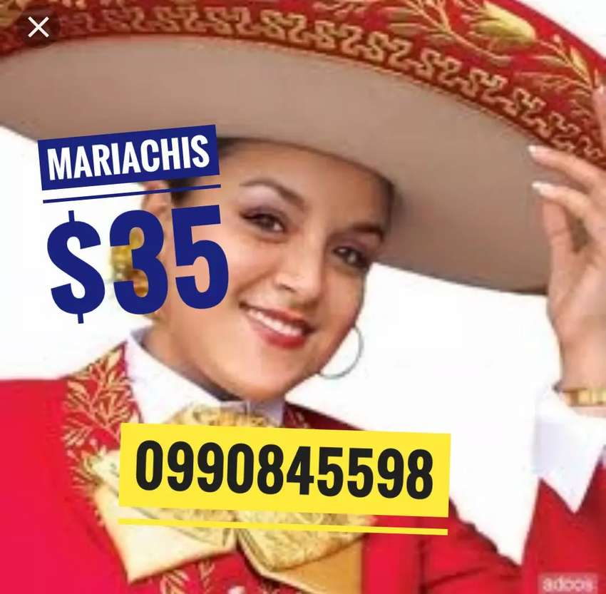 Mariachis en Quito Norte Sur y valle disponibilidad inmediata 0