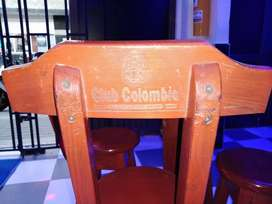 juegos de mesa en madera