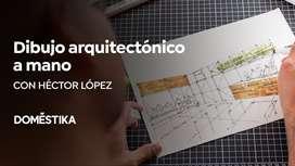 Introducción al Dibujo Arquitectónico a Mano - Curso Domestika
