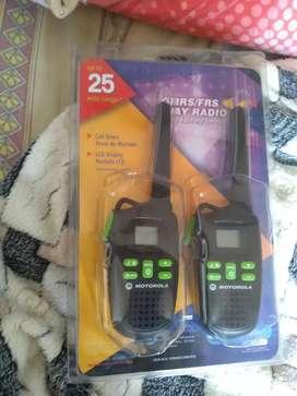 Radio teléfono Motorola