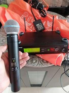 Microfono Shure Beta58aslx2/transmisorslx4 2 Usos Ganga!!!