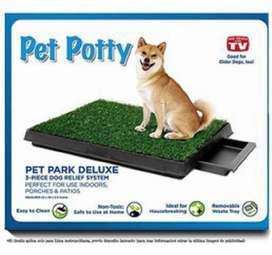 Baño Ecológico Portátil Para Perros Con Bandeja Pet Potty (715)