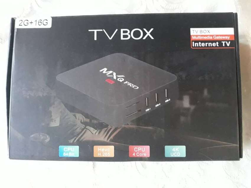 TV BOX MXQ PRO 5G 2K 4K ANDROID 9.0, de 2GB RAM, 16GB ROM, CONVERTIDOR a SMARTV. 0