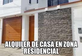SE ALQUILA CASA PRIMER PISO- CHICAYO