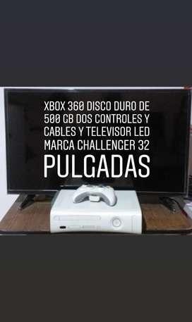 Vendo Xbox 360 Y Televisor Led