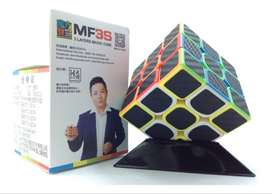 Cubo Rubik Mf3s Fibra Carbono 3x3 Moyu Profesional Speedcube