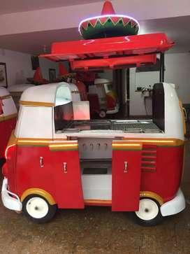 Carro comida rapida diseño Mejicano Nuevo