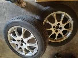 Llantas 17 +neumáticos 215/55/17 70% bridgestone