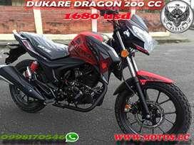 MOTO NUEVA DUKARE DRAGON 200 CC
