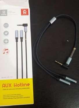 cable auxiliar hotline