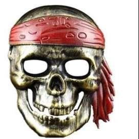 Mascara de pirata calavera