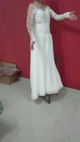 Vestido Novia Incluye Velo