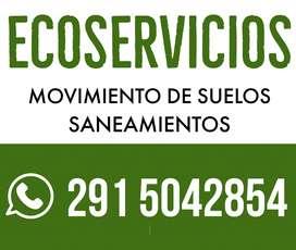 Ecoservicios -2915042854- MOVIMIENTO DE SUELOS BAHIA BLANCA