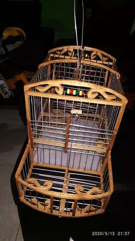 Vendo jaula con dos trampas