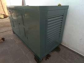 Generador grupo electrógeno cabinado Logus usado vendo o permuto