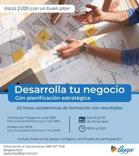Curso de Planificación Estratégica para Emprendedores