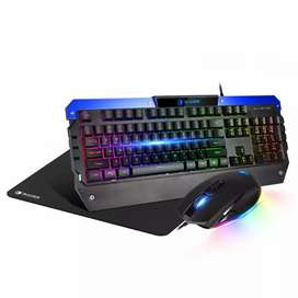 Combo Gamer Teclado y Mouse SADES Battle Ram