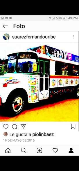 Chivas Bucaramanga Bus party
