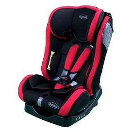 Silla bebé para auto carro Bebesit Orbit roja 129AR