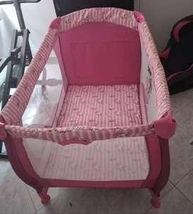 Venta de corral y silla de seguridad de carro para bebe