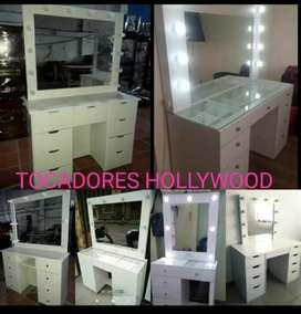 TOCADORES HOLLYWOOD HERMOSOS