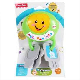 Llaves Fisher Price Juguete Educativo