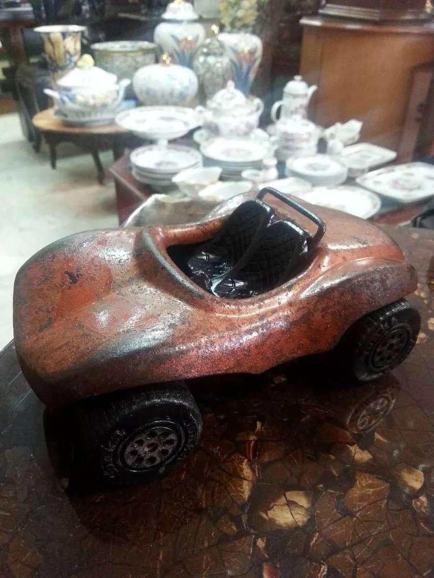 Carro Buggy En Hojalata Antiguo Marca Tonka U.s.a 0