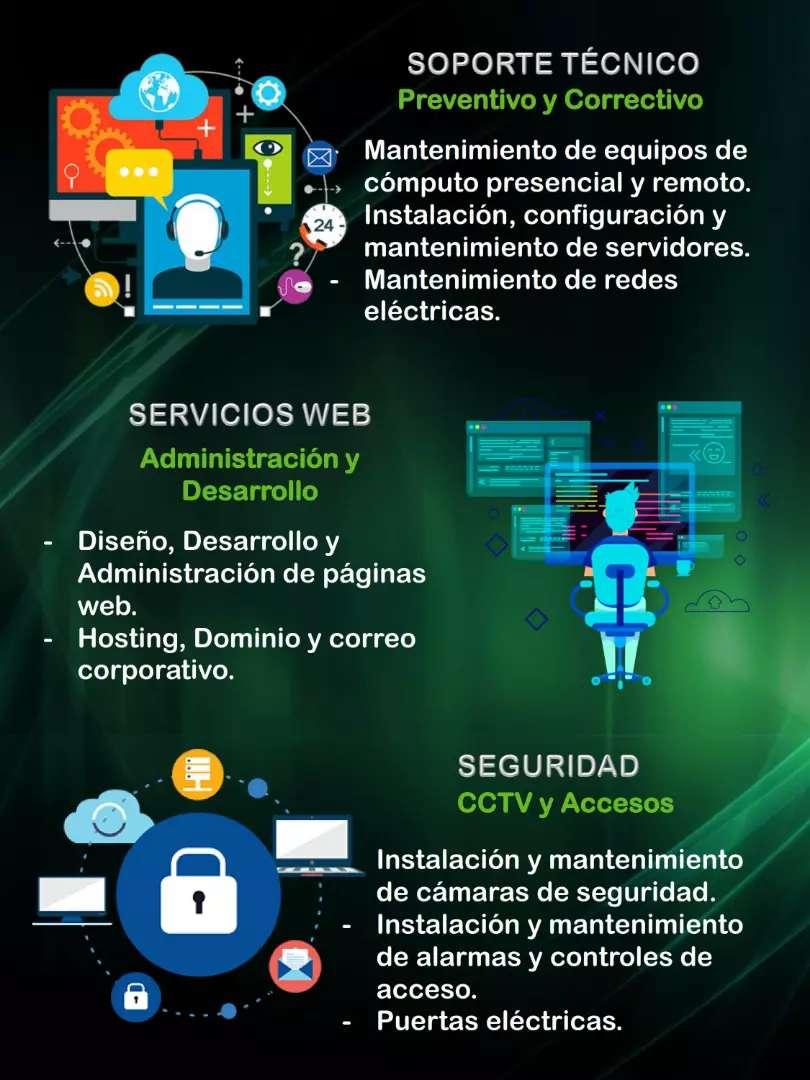 Servicios de seguridad electrónica. Cámaras de seguridad, alarmas, control de acceso. Etc 0