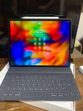 Ipad pro  12.9 64gb 2020 con apple pencil 2 y smartkeys