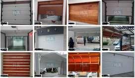 Venta Instalación Mantenimiento Reparación De todo tipo de puertas de garaje, levadizas, seccionales, batientes etc.